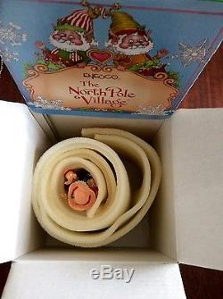 The North Pole Village JIGGLE by Enesco