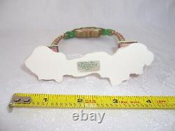 VTG 1994 Enesco The North Pole Village ARCHWAY GATE Arch Accessory 861952 with Box