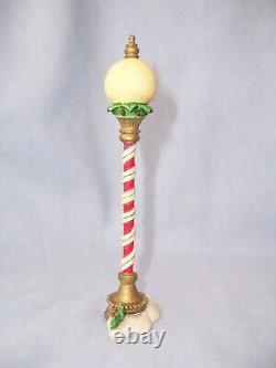 VTG 1994 Enesco The North Pole Village Accessory Figurine LAMP POST Street Light