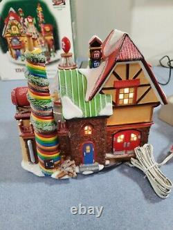 Vtg RETIRED DEPARTMENT 56 North Pole M&M'S CANDY FACTORY 56.56773