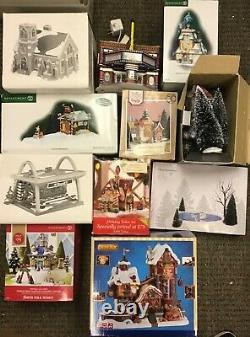 (lot Of 43) Dept. 56 & More Christmas Collections See Details Pre Owned